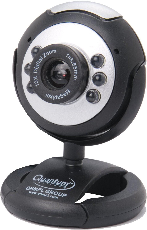 Quantum Quantum QHM495 LM Web Camera Webcam(Multicolor)