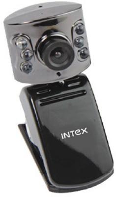 Intex Pc Webcam Night Vision 601k (It-306wc) Webcam(Black)