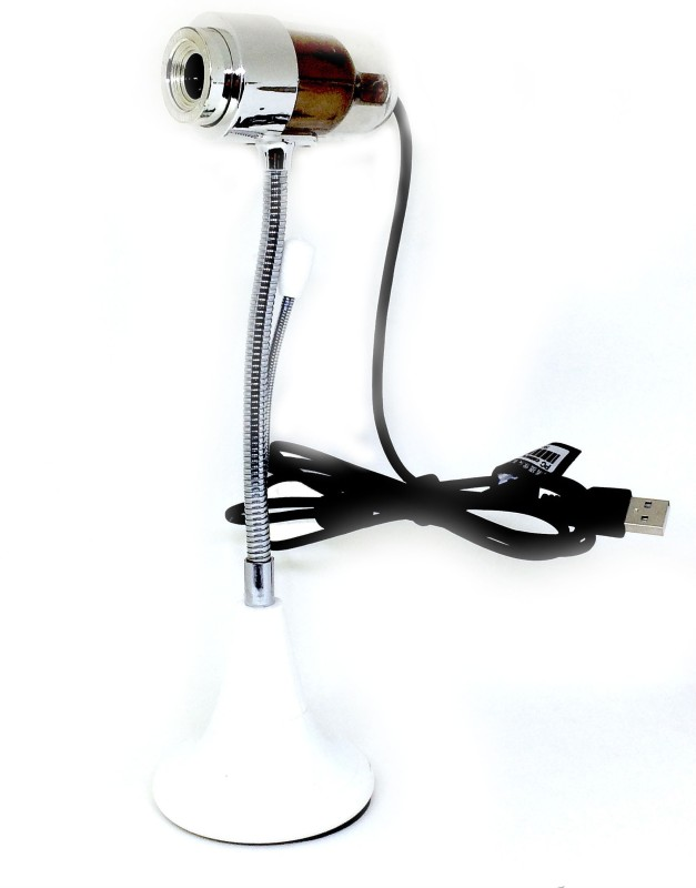 Shrih Computer PC Laptop 32 Megapixels HD Mic  Webcam(Silver Brown)