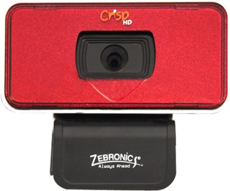 Zebronics Crisp HD Webcam(Red)