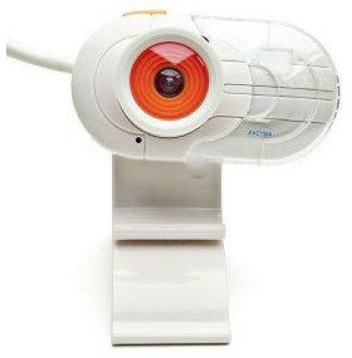 Shrih Portable LCD Clip-On Built-in Microphone 1.3MP USB 2.0 Webcam(White)