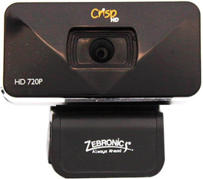 Zebronics Crisp HD Webcam(Black)