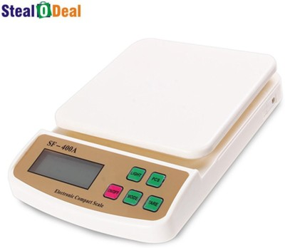 Stealodeal 7kg Digital Multi-Purpose Kitchen Weighing Scale