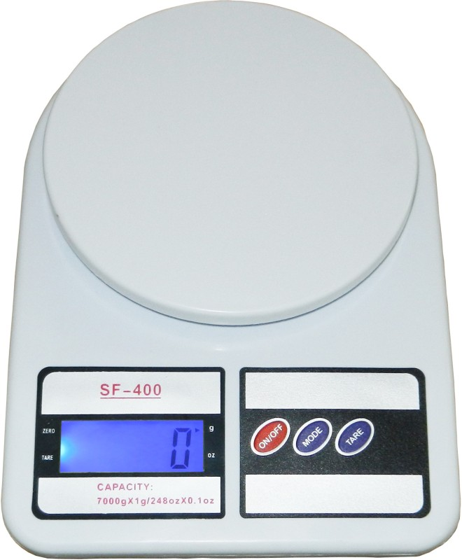 Venus Digital 7 Kg X 1 gm Kitchen Multi-Purpose Weighing Scale(White)