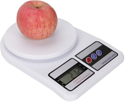 NewveZ Electronic Digital 7 Kg Weighing Scale(White)