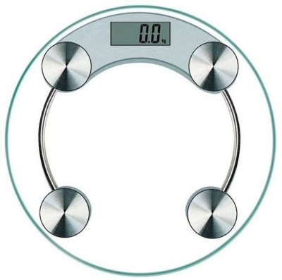 Weightrolux Personal Scale Weighing Scale(White)