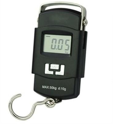 Shrih Portable Digital Heavy Duty Hook Type Luggage Weighing Scale(Black)