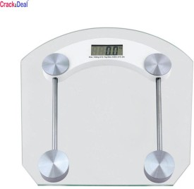 CrackaDeal Digital Square 150kg Personal Weighing Scale(White)