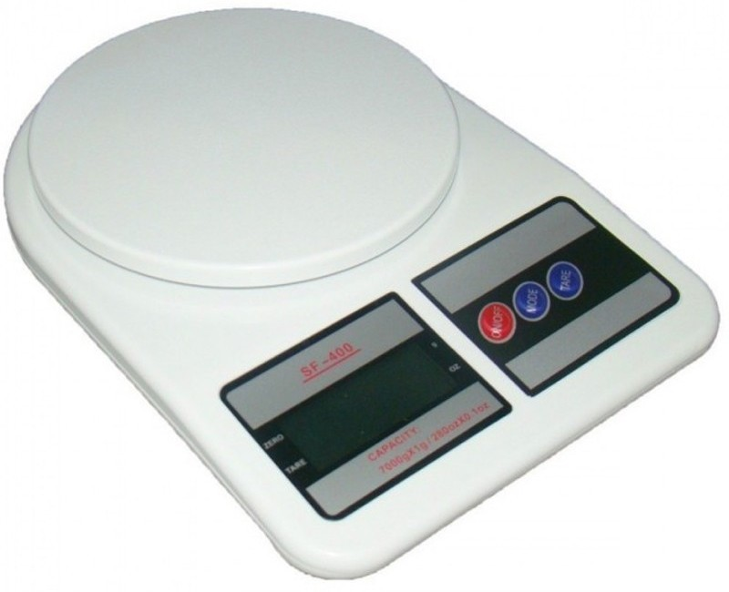eDeal Kitchen 1g to 10 kg Weighing Scale(White)