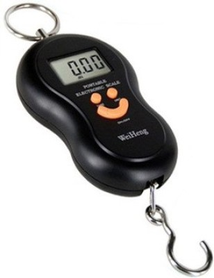 Ruby Portable Travel Digital Hanging Weighing Scale(Black)