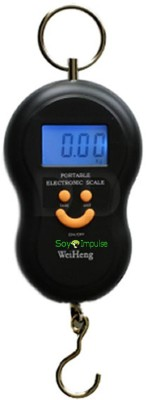 Soy Impulse Smiley Portable Electronic Luggage Weighing Scale