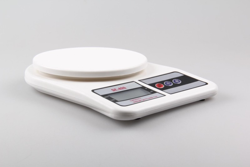 eDeal Digital 7 Kg X 1 gm Kitchen Multi-Purpose Weighing Scale(White)