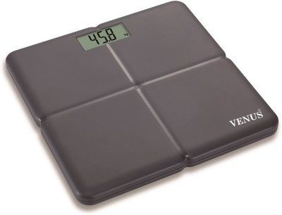 Venus Prime Lightweight Weighing Scale(Black)