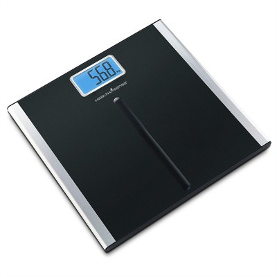 Healthsense Soft-Grip Personal Weighing Scale(Black)