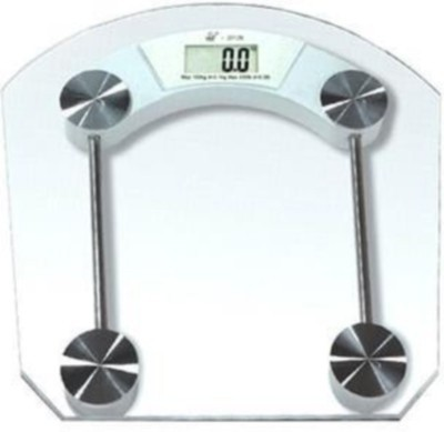 Phyzo Strong Transparent Round Square Weighing Scale