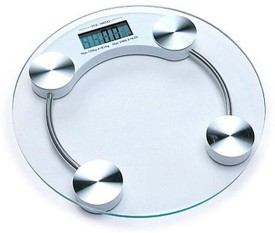 CreativeVia Health Checkup Fitness Round Weighing Scale
