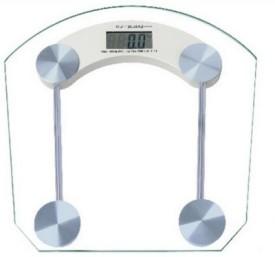 CreativeVia Personal Digital Bathroom Square Weighing Scale