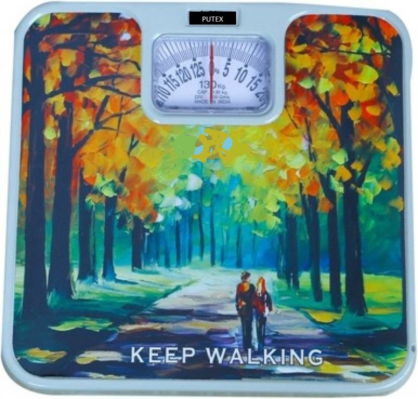 Putex BATHROOM WEIGHING SCALE Weighing Scale(mix colour)