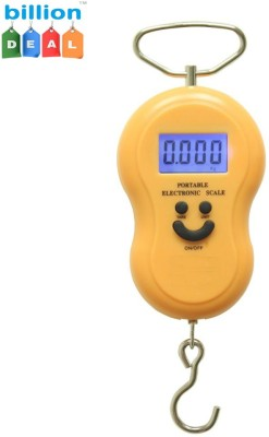 billion DEAL Portable Hanging Machine Weighing Scale Multicolor  available at Flipkart for Rs.290
