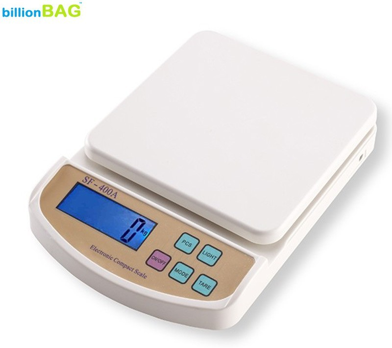 billionBAG SF 400A 7Kg Digital Electronic Kitchen Weighing Scale