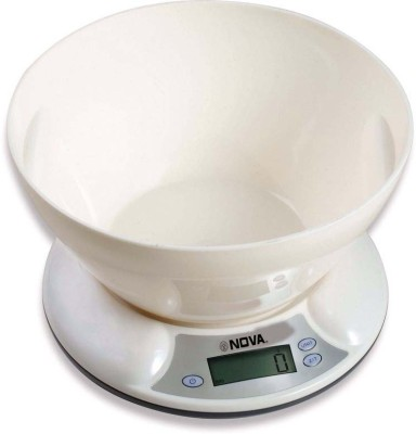 Nova Trendy Unbreakable Electronic Kitchen Ks 1319 W Weighing Scale