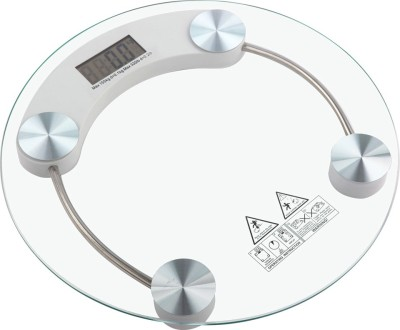 Lion Transparent Round Weighing Scale