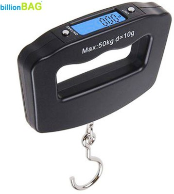 billionBAG 50Kg -Portable Luggage Weighing Scale