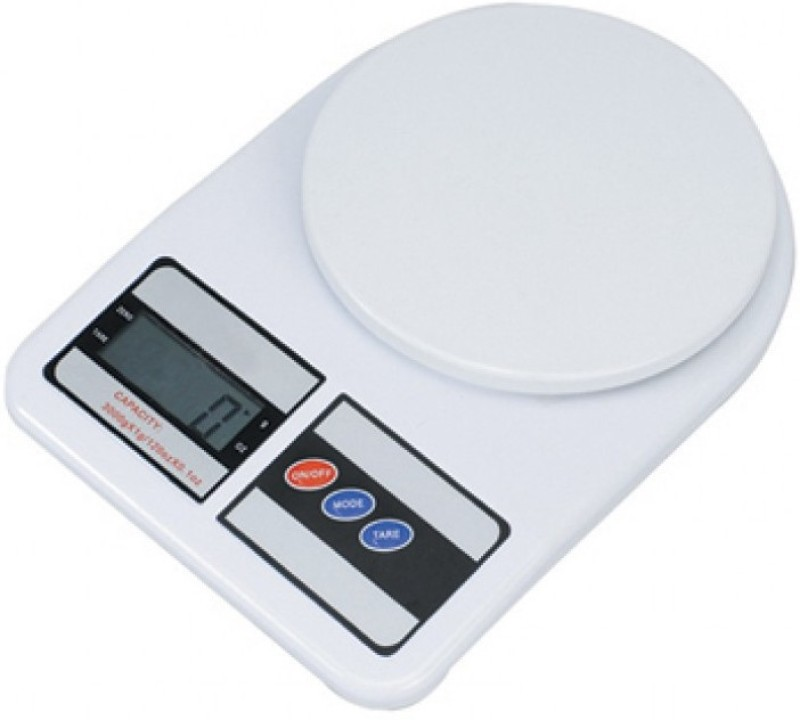 eDeal Electronic Kitchen 10 kg Weighing Scale(White)