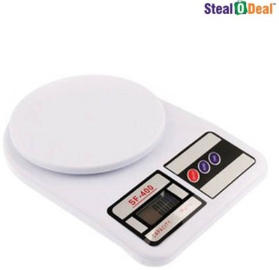 Stealodeal 7kg Electronic Kitchen Weighing Scale(White)