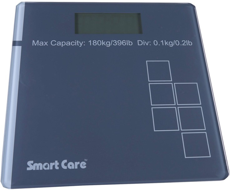 Smart Care SMARTCARE PERSONAL SCALE Weighing Scale(Grey)
