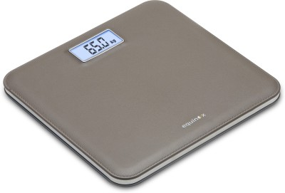 Equinox Leather Look Weighing Scale(Gray)