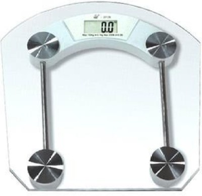 CreativeVia Square High Quality Premium Thick Glass Digital Machine Weighing Scale