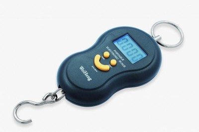 WeiHeng Portable Electronic Digital Lcd Screen Weighing Scale(Black)