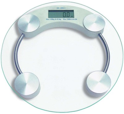 Ideal Home Personal Digital - Round Weighing Scale