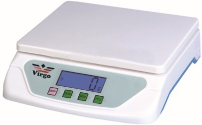 Virgo 25 kg x 1 gm Kitchen Multi-Purpose Weighing Scale(White)