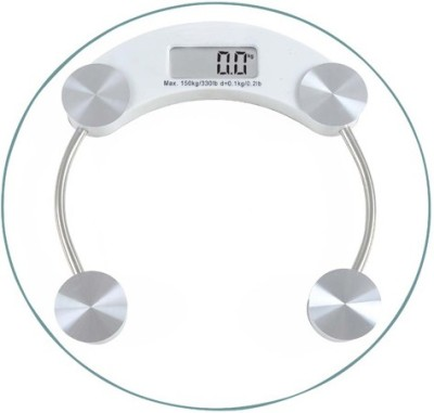 Phyzo Strong Transparent Round Weighing Scale