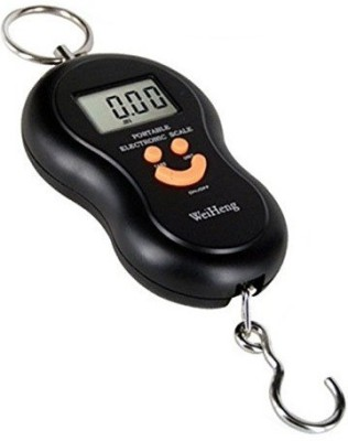 Ruby Portable hanging machine Weighing Scale Black  available at Flipkart for Rs.255