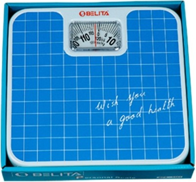 Belita Personal Analog Bathroom Scale Weighing Scale