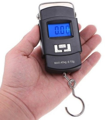 eDeal 40Kg Digital LCD Pocket Portable Hanging Kitchen Weight With Tare Weighing Scale