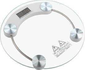 jhondeal Measuring Weighing Scale(White)