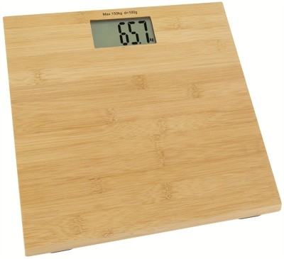 YBM Wooden Top Electronic Personal Weighing Scale