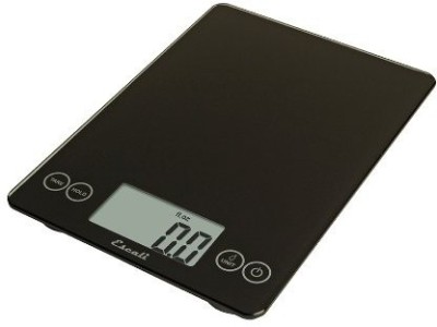 Escali Arti Glass Digital 15 Lb / 7 Kg, Ink Black Weighing Scale