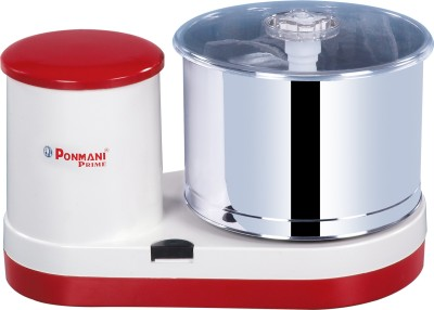 Ponmani Prime Wet Grinder(Red, White)