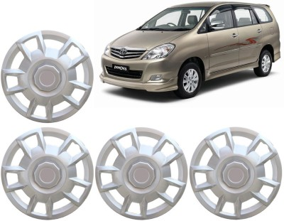 Auto Pearl Premium Quality Car Full Caps Silver 15 Inches For - Toyota Innova Wheel Cover For Toyota Innova