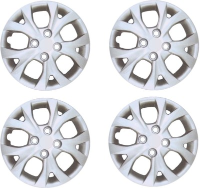 Auto Pearl Premium Quality Car Full Caps Silver 14Inches Wheel Cover For Honda Amaze