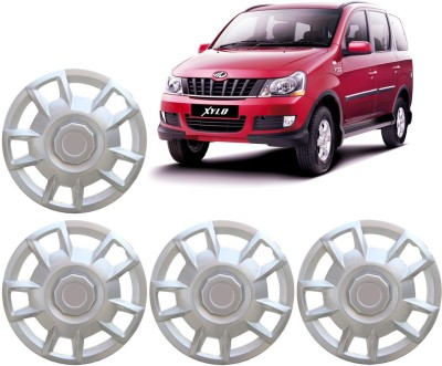 Auto Pearl Premium Quality Car Full Caps Silver 15 Inches For - Mahindra Xylo Wheel Cover For Mahindra Xylo