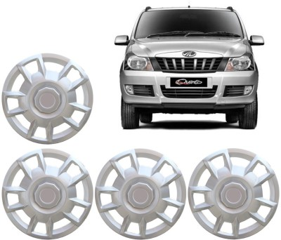 Auto Pearl Premium Quality Car Full Caps Silver 15 Inches For - Mahindra Quanto Wheel Cover For Mahindra Quanto