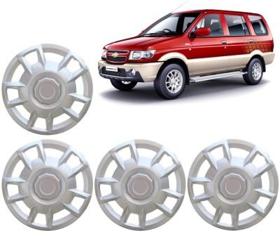 Auto Pearl Premium Quality Car Full Caps Silver 15 Inches For - Chevrolet Tavera Wheel Cover For Chevrolet Tavera