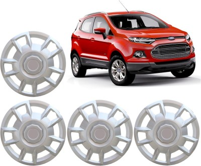 Auto Pearl Premium Quality Car Full Caps Silver 15 Inches For - Ford Ecosport Wheel Cover For Ford Ecosport