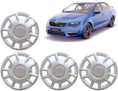 Auto Pearl Premium Quality Car Full Caps Silver 15 Inches For - Skoda Octavia Wheel Cover For Skoda Octavia